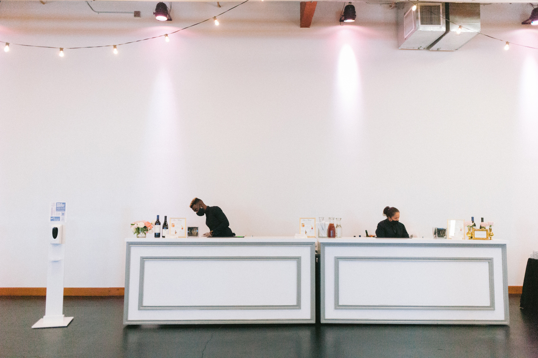 White and Gray Cocktail Bar Fronts