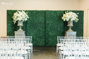 Wedding Ceremony Altar at sixty five hundred